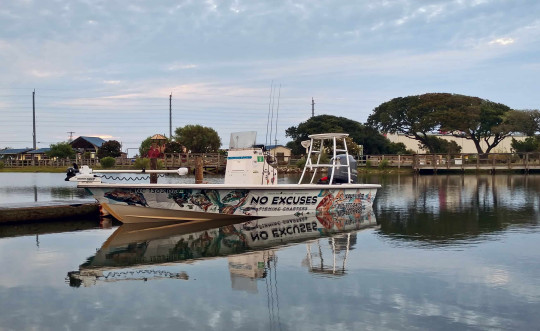 Capt Mike Fishing - NX Fishing Charters - Riley Rods - Team North Fork Composites 9